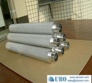 Titanium Powder cylinder Filters