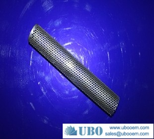 Perforated metal filter cylinder