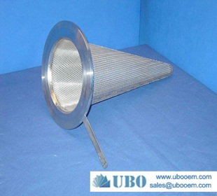 Stainless Steel Sintered Mesh Cone Filter