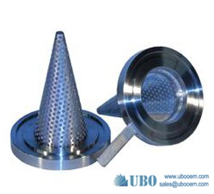304 316 Stainless Steel Cone Filters