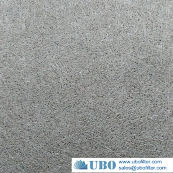 intered stainless fiber felt filter