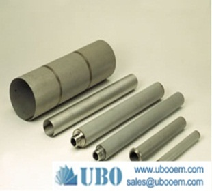 Sintered wire mesh cartridges