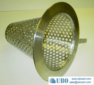 Sintered mesh Cone filters