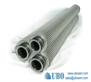 Sintered multilayer fabricated filter