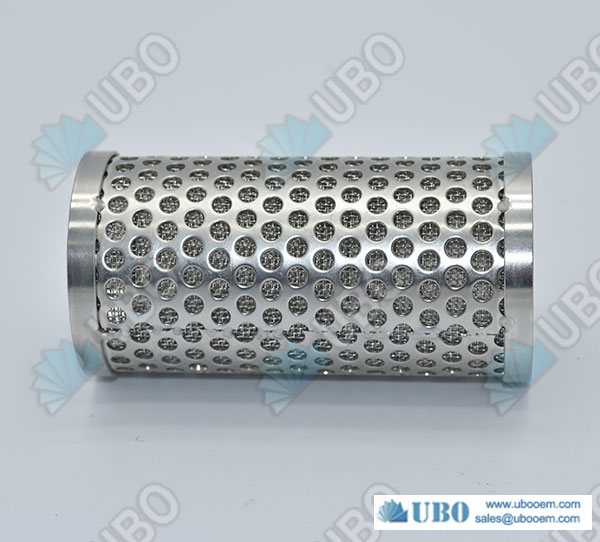 Perforated Metal Sintered Wire Mesh Filter