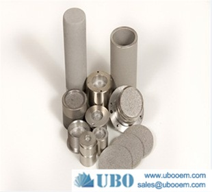 Titanium powder sintered filter cartridge