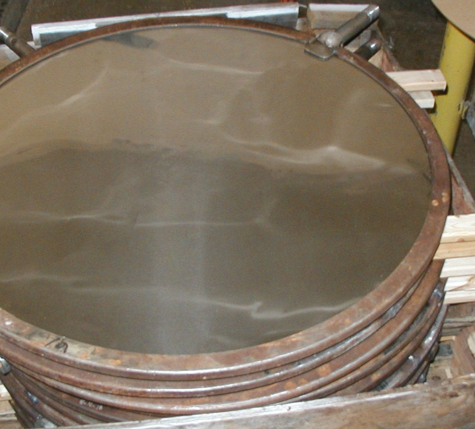galvanized filter disc