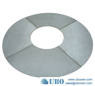 Plain steel filter disc