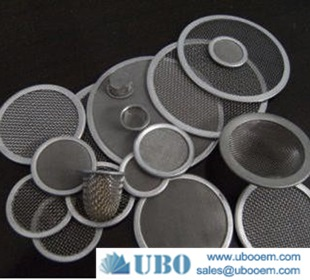 Metal filter cloth packs