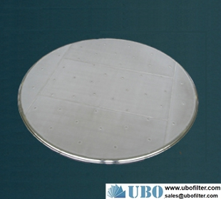 Stainless Steel Wire Mesh Pressure Leaf Filter