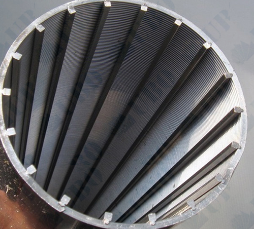Steel Casing Pipes : Stainless steel casing pipe tube wedge wire screen