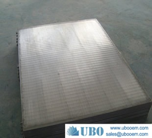 Vibratory Conveyor Wedge Wire Screen Decks