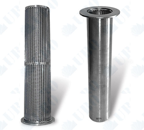 Wedge Wire Cylindrical Strainers