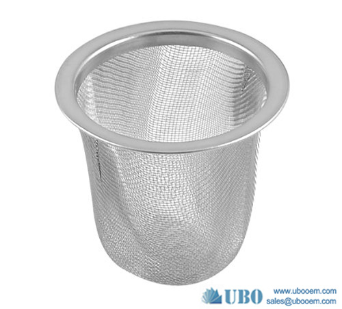 Stainless Steel Wire Mesh Basket Filter