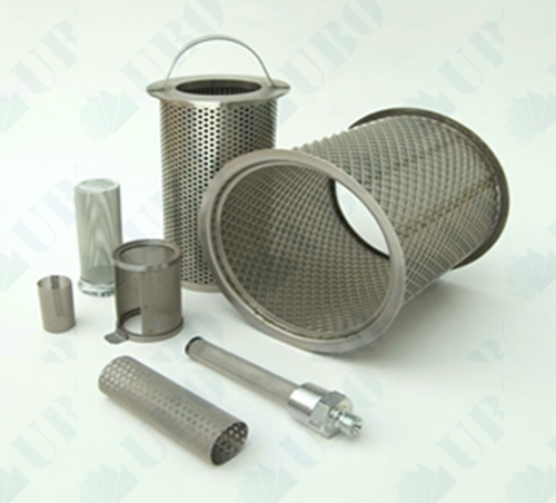 Perforated Stainless Steel Filter Pipe