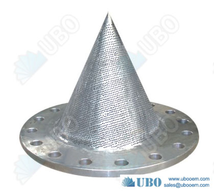 Stainless Steel Perforated Conical Strainer