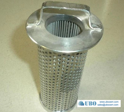 Stainless Steel Perforated Pipe Strainers Filter Element