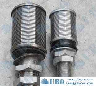 wedge wire stainless steel screen nozzles