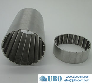 Wedge Wire Filter Segments Resin Trap Screens Spiral