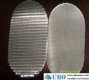 Stainless steel metal filter disc