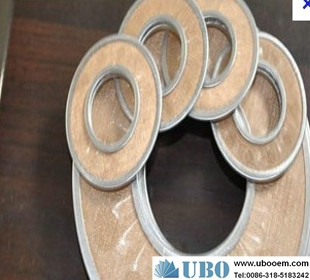 Brass wire mesh filter disc