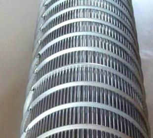 stainless steel looped wedge wire screen