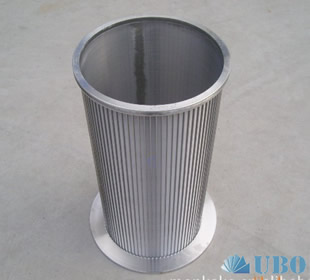 wedge wire screen used for water well drilling