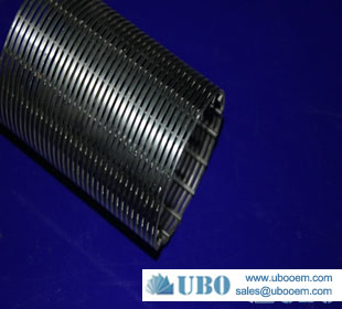 anti-corrosive steel water well wire screen