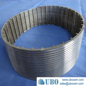 wedge wire screen for pulp