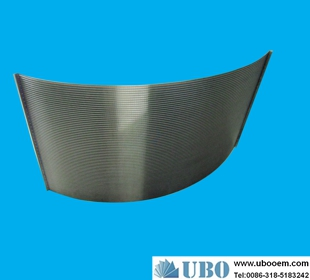 Wedge Wire Sieve Bend Screens