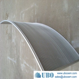 tainless steel302 wedge wire curved screen for wasterwater treatment