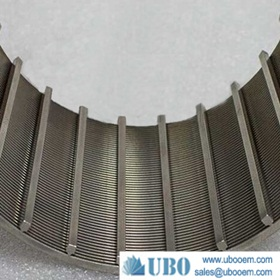 stainless steel anti-sand screen pipe for booster pump stations