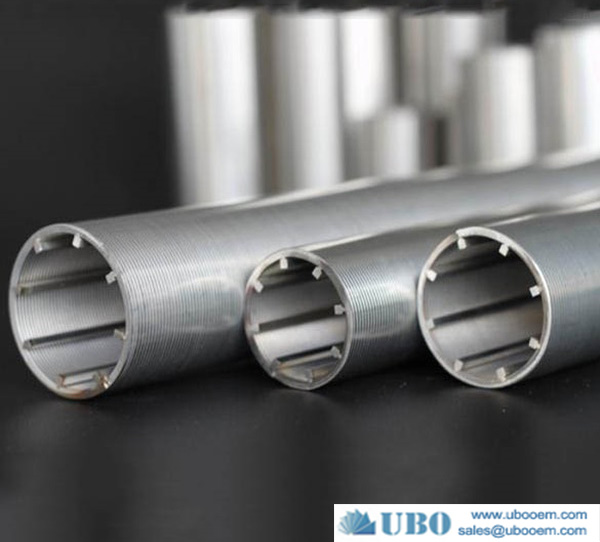 Stainless steel304L screen cylinders for municipal water