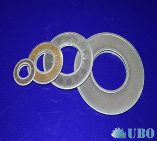SS filter disc for dust removal
