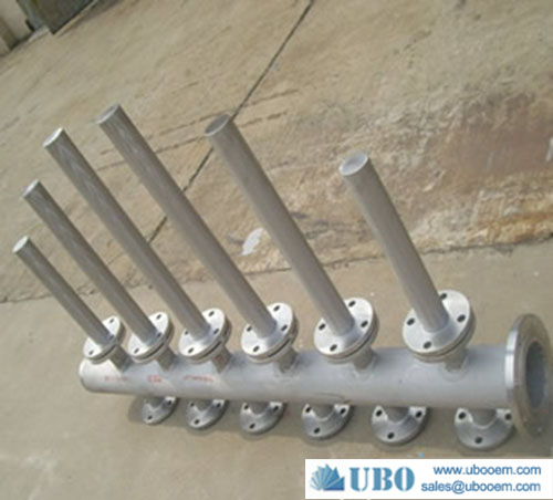 stainless steel hub lateral systems screen for petrochemical industry