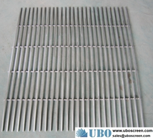 wedge screen panels