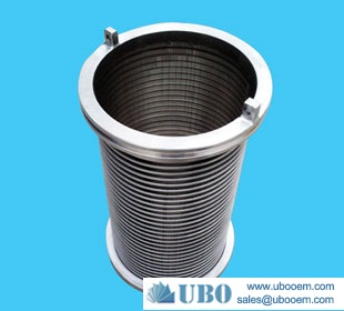 Stainless steel Wedge wire screen manufactory