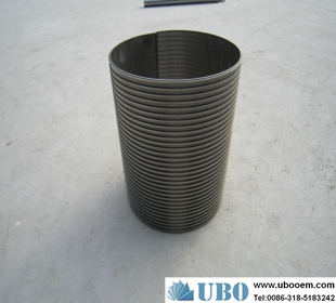 fish protection screen of wedge wire supplier
