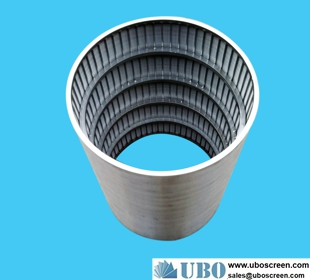 Small volume stainless steel sintered hydraulic support backwash filter element