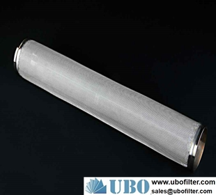 Metal Powder Sintered Filter Cartridge For Hydraulic System