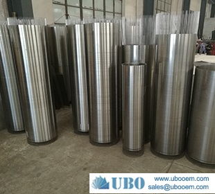 Stainless steel wedge wire slot pipe