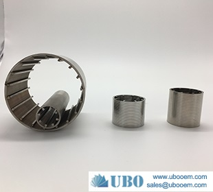 Stainless steel304L wedge wire resin traps for ion exchange