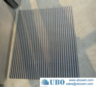 SS304 cross flow sieve bend screen for clarifying