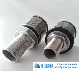 stainless steel water filter nozzle for water cleaning