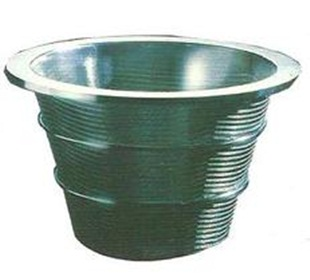 conical centrifuge basket