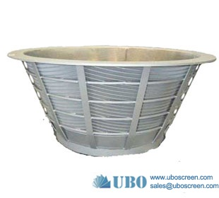 wedge wire basket