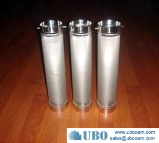 stainless steel melt filter cartridge