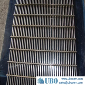 solid welded seperation wedge wire screen panel