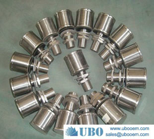 NPT Thread Wedge Wire Screen Nozzle Strainers Filter Nozzles