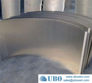 Wedge wire cross flow sieve bend screen custom products